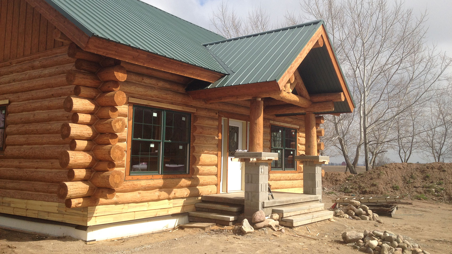 Langenburg Construction Company, Inc. Log Homes, Residential Remodeling and Custom Homes